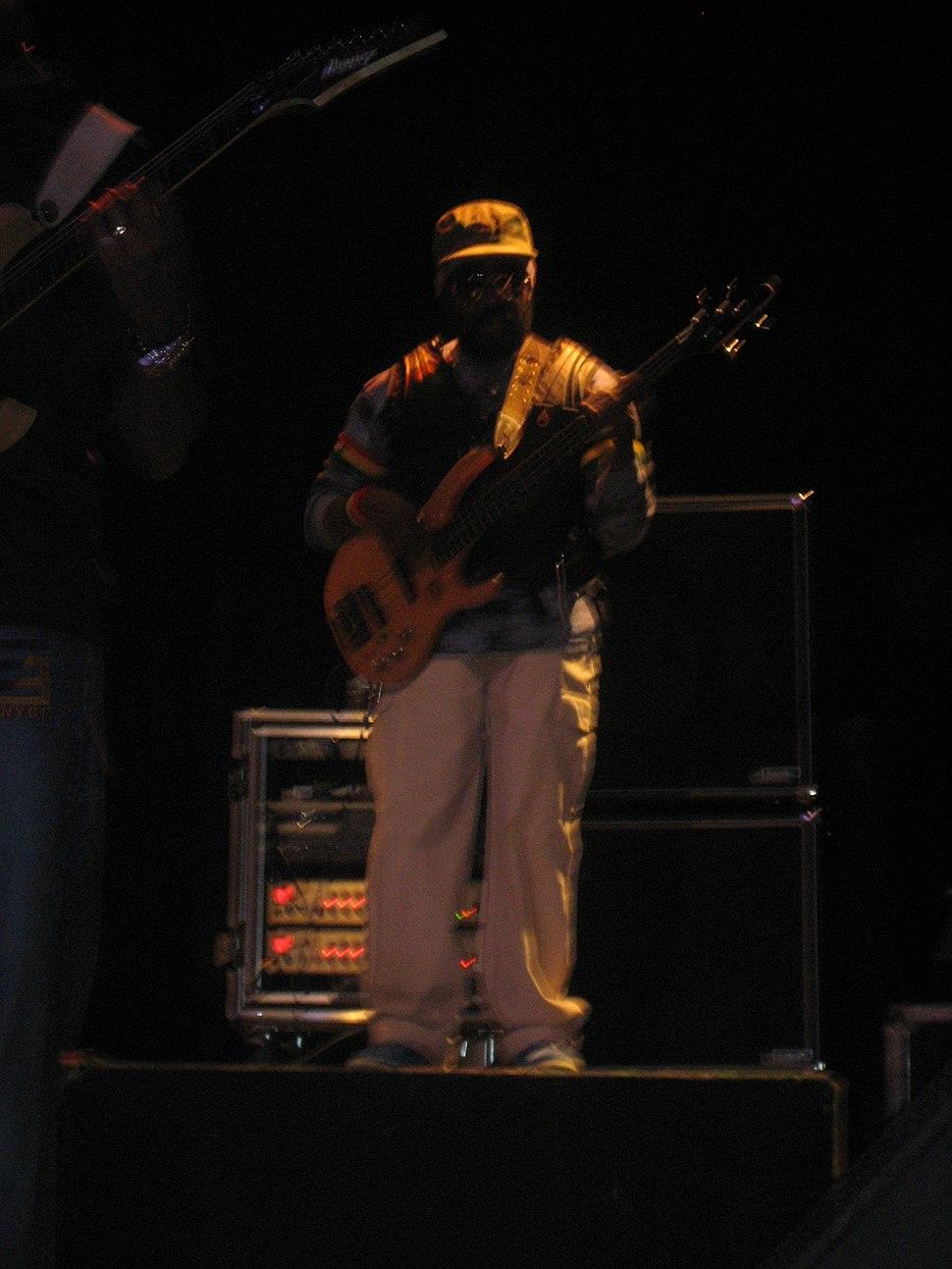 Aston Barret on stage 2008