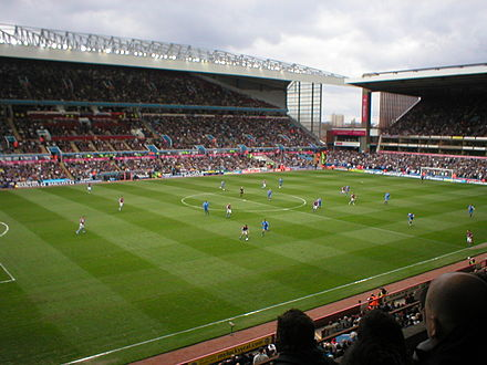 Aston Villa vs Birmingham City in the Second City derby at Villa Park AstonvillavsBirmingham06.JPG