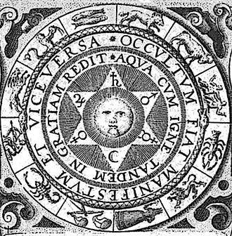 Johann Daniel Mylius - Illustration from Mylius' 1618 Opus medico-chymicum