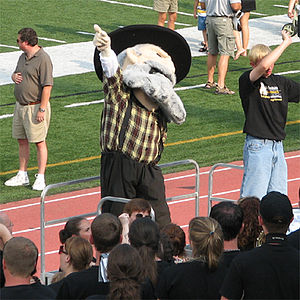 Appalachian State Mountaineers - Yosef the Mountaineer