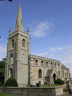 Aswarby Village in the North Kesteven district of Lincolnshire, England