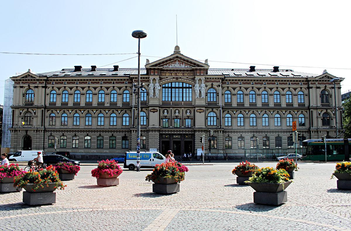 Ateneum wikipedia for Capitale finlandese