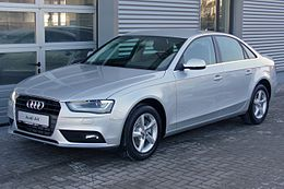 Audi A4 B8 Facelift Limousine Ambiente 1.8 TFSI multitronic Eissilber.JPG
