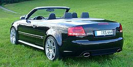 Audi RS4 Cabriolet rear.JPG