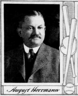 August Herrmann American baseball executive and political figure in Cincinnati