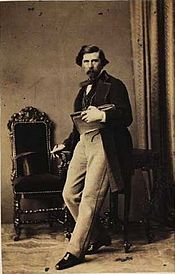 August Schiøtt 1862 by Georg E. Hansen