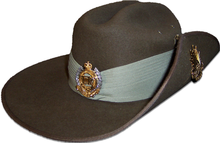 Australian Army Grade 1 Slouch Hat with Royal Australian Engineers corps  badge 7a339c21b2