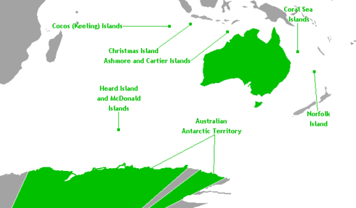 Map Of Australia Natural Features.Australia Wikitravel