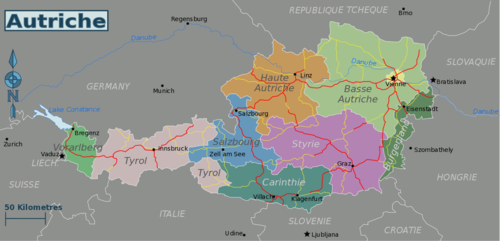 Europe Ville Carte Fr