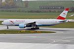 Austrian Airlines, OE-LPA, Boeing 777-2Z9 ER (22644549988).jpg