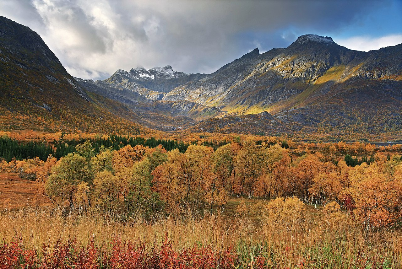 file autumn landscape near gullesfjordbotn  hinn u00f8ya  2010 september jpg