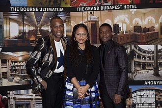 Ava DuVernay - Image: Ava Du Vernay, David Oyelowo and Colman Domingo Febrauary 2015