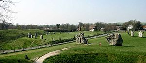 Henge - Avebury henge contains several stone circles