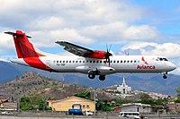 Avianca Guatemala (TG-TRF) ATR 72-600 at Toncontín International Airport.jpg