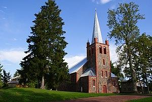 Avinurme - Avinurme church