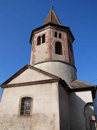 Avolsheim - The Chapel of Saint-Ullrich