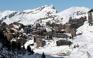 Avoriaz - Image: Avoriaz France winter december 2008