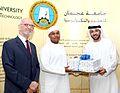 Award by Ajman University 2011.jpg
