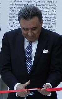 Aydın Doğan Turkish businessman