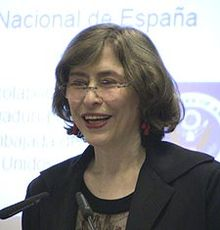 Azar Nafisi Lectures at the Spanish National Library (2010).jpg