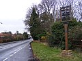 B1077 Westerfield Road and Village Sign - geograph.org.uk - 1128011.jpg