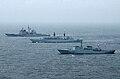 BALTOPS 2002 - HDMS Hvidbjoernen, HMS Chatam, USS Cape St. George.jpg