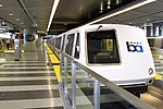 BART train at SFIA station, 2003.jpg