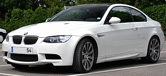 BMW 3 Series (E90) - E92 M3 coupe