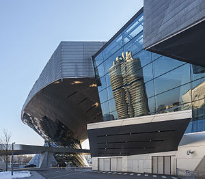 BMW Welt - The BMW Welt exhibition center