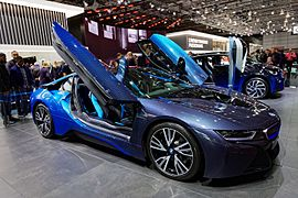 BMW i8 - Mondial de l'Automobile de Paris 2016 - 001.jpg