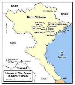 Have hit vietnam hanoi hilton stars and strips