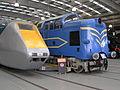 BR APT-E power car & 'Deltic' prototype, Locomotion Shildon 29.06.2009 P6290033 (9989486705).jpg