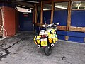 BTP motorcycle, Oxford Road (2).JPG