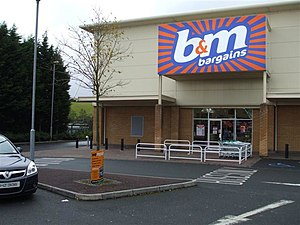 B & M - Image: B and M Bargains, Omagh geograph.org.uk 1011015