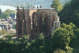 Rhine romanticism - Werner Chapel in Bacharach