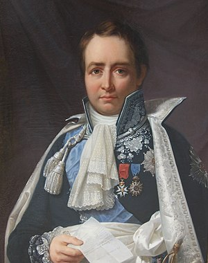 Jean-Pierre, Count of Montalivet - Jean-Pierre Bachasson, count of Montalivet