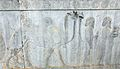 "Bactrian Tribute Bearers on the Apadana Staircase 9 (Best Viewed Size ""Large"") (4687986033).jpg"