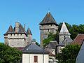 Badefols-d'Ans château église.JPG