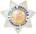 Badge of a Fresno Police Department officer.png