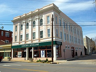 National Register of Historic Places listings in Calhoun County, Alabama - Image: Bagley Cater Building April 2014 2