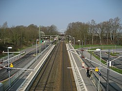 Bahnhof Bremen Mahndorf • Blick Richtung Bremen.JPG