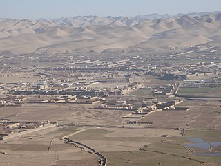 Bala Murghab Place in Badghis Province, Afghanistan