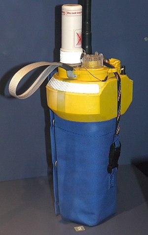 Argos system - An Argos Seabeacon buoy.