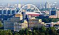 Ballonfahrt über Köln - Ingenieurwissenschaftliches Zentrum (Fachhochschule Köln), Lanxess-Arena-RS-4129.jpg