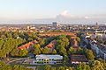 Ballonfahrt über Köln - Kindertagesstätte am Räuberwäldchen, Wohnbebauung Düstemichstraße-RS-3987.jpg