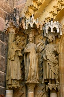 A 14th Century Cross Bamberg Cathedral - Wi...