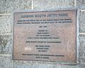 Bandon South Jetty Park Plaque.jpg