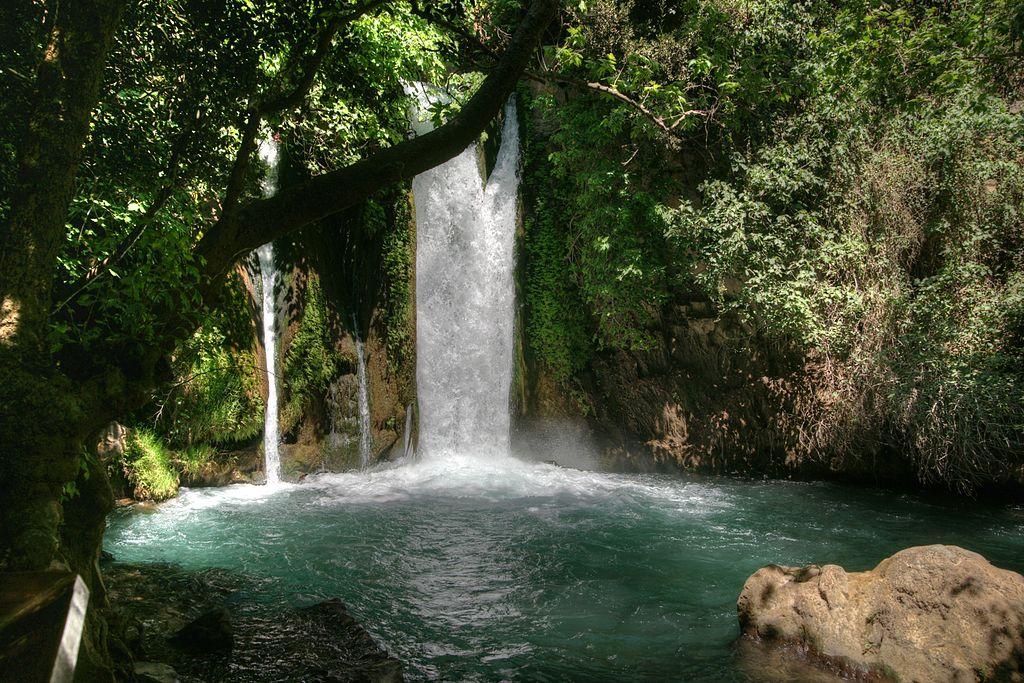waterfalls in Israel