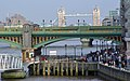 Bankside Jetty, and Bridges over the River Thames - geograph.org.uk - 884817.jpg