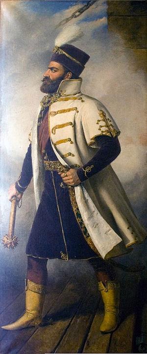 Nikola Šubić Zrinski - A portrait by Miklós Barabás